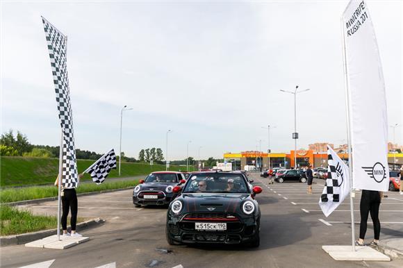 Автопробег MINI Drives Russia 2019 помог подопечной Русфонда