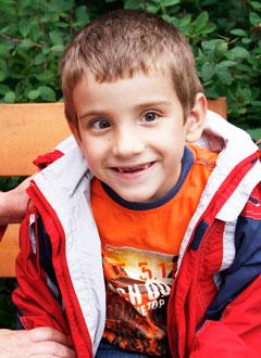 Даниэль Таныгин, 7 лет, детский церебральный паралич, спастический тетрапарез, требуется лечение. 199620 руб.