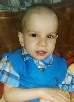 Тема Кравченко, 4 года, детский церебральный паралич, требуется ортопедический велосипед. 245820 руб.