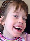 Тоня П., детский церебральный паралич, недоразвитие речи, частичная атрофия зрительных нервов, сколиоз 4 степени, требуются денежные средства на содержание в Свято-Софийском детском доме на год, 516000 руб.