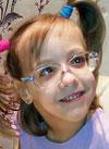 Зоя Ижак, 7 лет, детский церебральный паралич, требуется инвалидная коляска. 68888 руб.
