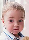 Арсений Пирогов, 2 года, первичный иммунодефицит, синдром Комеля – Нетертона (врожденное поражение кожи), требуется лечение в Университетской клинике (Мюнстер, Германия). 1473046 руб.