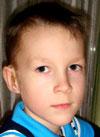 Матвей Пачержинскис, 7 лет, двусторонняя тугоухость 4-й степени, требуются слуховые аппараты. 219062 руб.