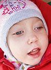 Поля Савоськина, 4 года, детский церебральный паралич, эпилепсия, требуется кресло-коляска. 112840 руб.