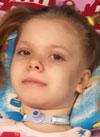 Лиза Каневская, 8 лет, некротизирующий энцефалит, требуется лечение. 414687 руб.