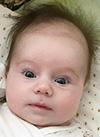 Габриэлла Кузнецова, 3 месяца, тяжелый врожденный порок сердца, спасет операция. 151385 руб.