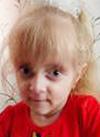 Лиза Ставицкая, 5 лет, остеопороз, требуется курсовое лечение. 527310 руб.