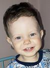Максим Семенов, 1 год, порок развития сосудов печени, спасет эндоваскулярная операция, требуется окклюдер. 99683 руб.