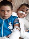 Таня Лысанова и Лера Ковалева, 8 и 6 лет, термический ожог 2–3-й степени, требуются медикаменты иперевязочные материалы. 284015 руб.