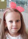 Алина Попова, 7 лет, диффузная ганглиоастроцитома – злокачественная опухоль головного мозга, спасет протонная терапия. 658364 руб.