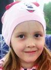 Ксюша Лобастова, 8 лет, врожденная деформация стоп, рецидив, требуются этапные операции. 151445 руб.