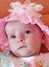 Ульяна Борисова, 8 месяцев, атрезия (отсутствие) ануса с ректопромежностным свищом, требуется реконструктивная операция. 488144 руб.