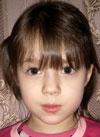 Таня Волгина, 7 лет, двусторонняя тугоухость 2-й степени, требуются слуховые аппараты. 121433 руб.