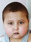 Муся Баховадинова, 4 года, неходжкинская лимфома 4-й стадии, рецидив, спасет лечение. 377607 руб.