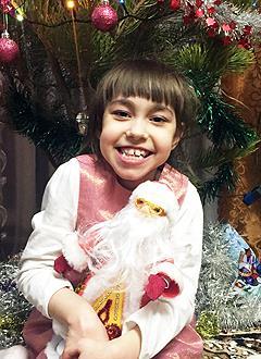 Настя Бек, 7 лет, детский церебральный паралич, требуется лечение. 163281 руб.