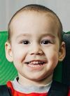 Данияр Мухутдинов, 3 года, детский церебральный паралич, требуется вертикализатор. 163900 руб.